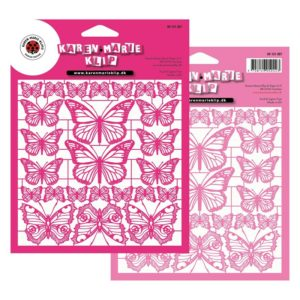 Mix Butterfly Pink laserark