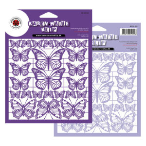Mix Butterfly Lilac laserark