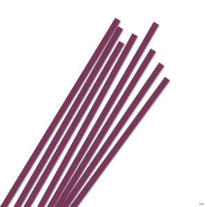 5 mm Strimler aubergine