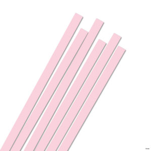 10 mm Strimler rosa