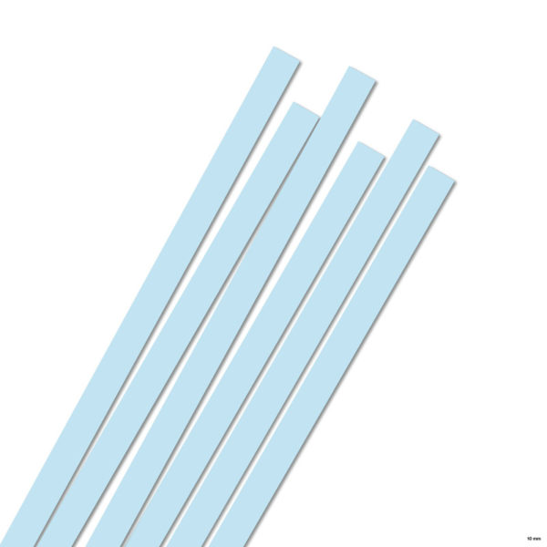 10 mm Strimler baby blue