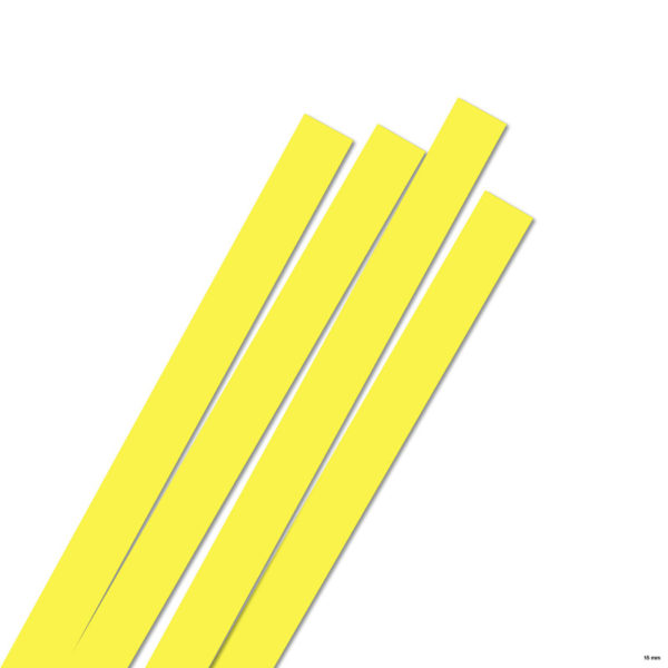 15 mm Strimler lemon