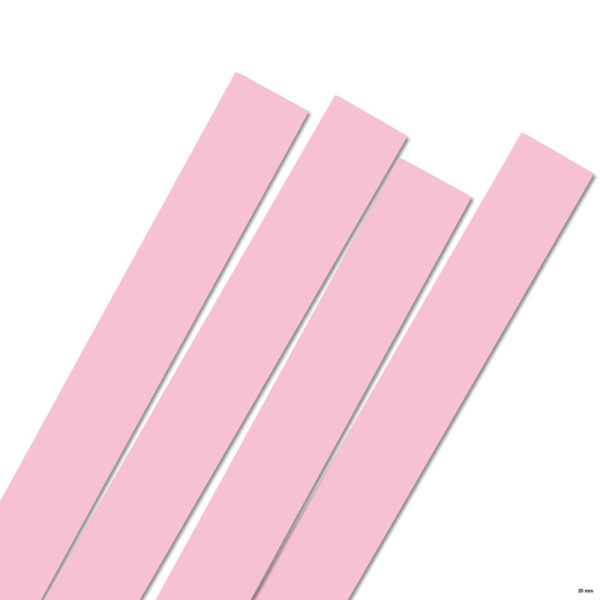 25 mm Strimler Light pink