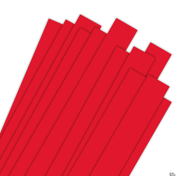 Big Pack 25 x 450 mm red