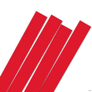 25 mm Strimler Red