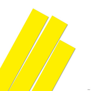 35 mm Strimler bright yellow