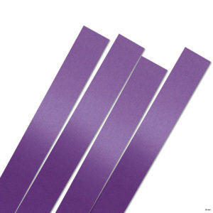 25 mm x 450 mm Strimler luxus violet