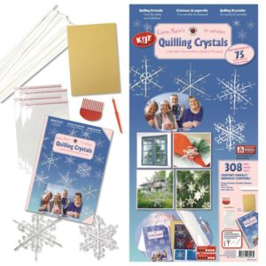 KM's quilling Crystal kit (white)