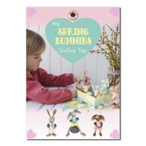 quilling spring bunnies