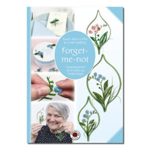 quilling flowers blomster blumen fleurs forget-me-not forglemmigej vergissmeinnicht ne m'oublie pas