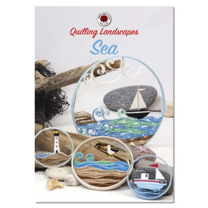 quilling landscapes sea sø see lac