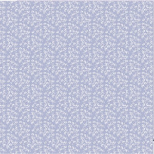 10 stk Org. light lilac leaf pattern 30,5 x30,5