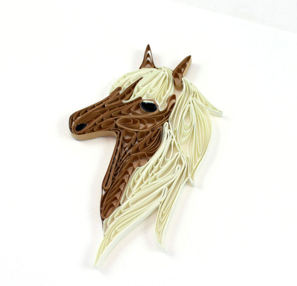 quilling hest, horse