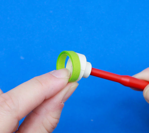 Quilling ring pen