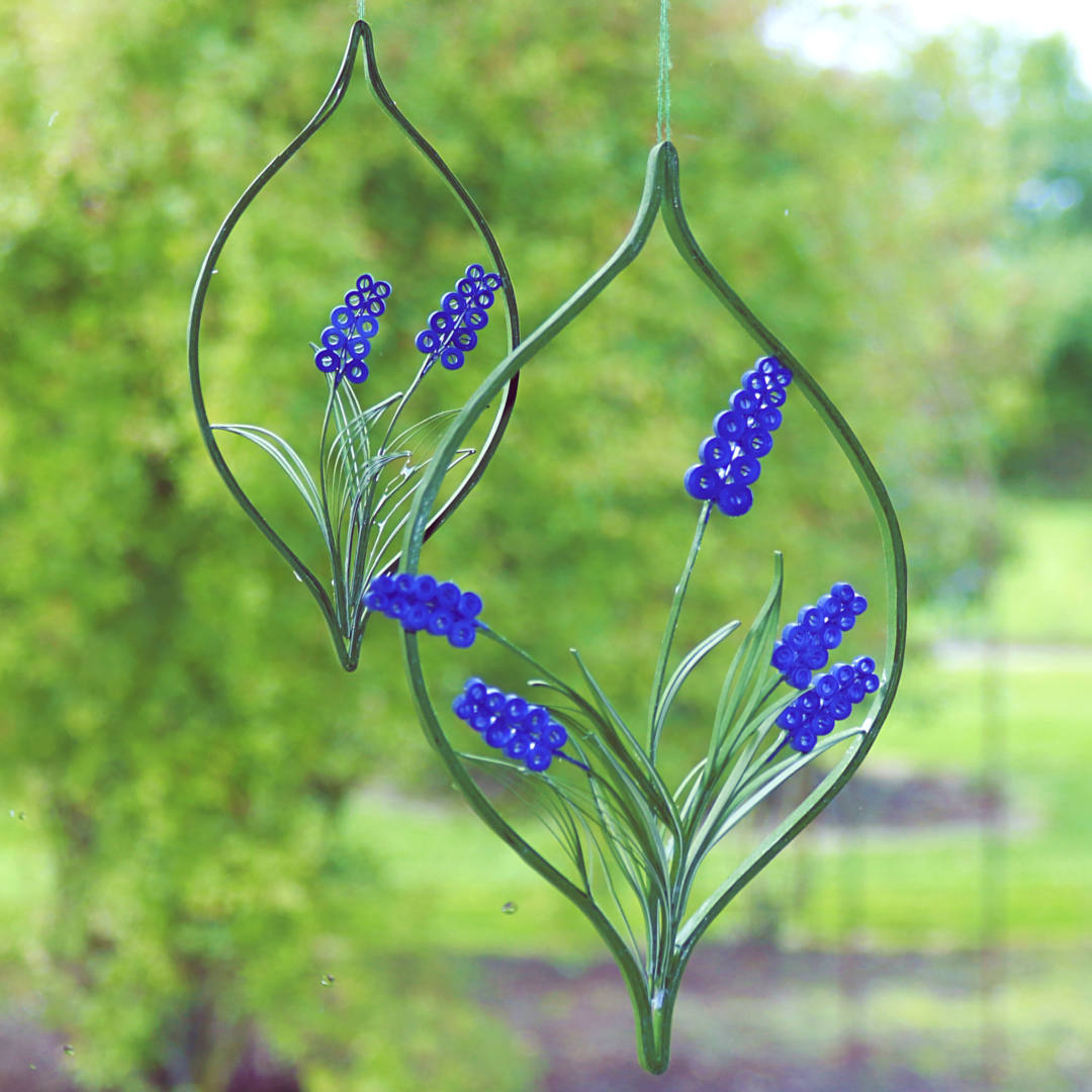 Quilling perlehyacinther