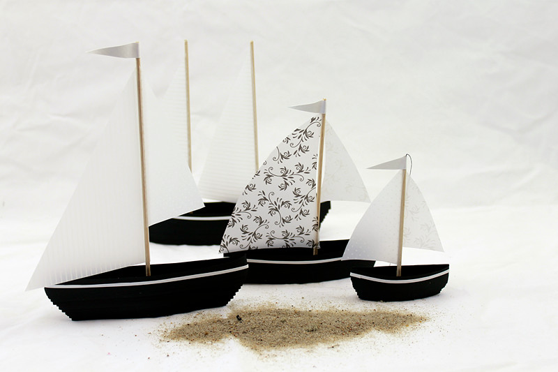 Quilling boats