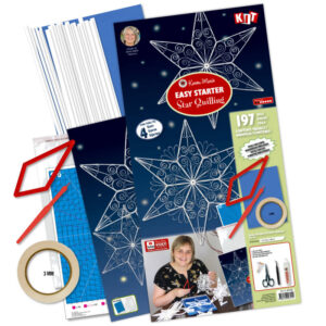 275102 easy starter star quilling kit