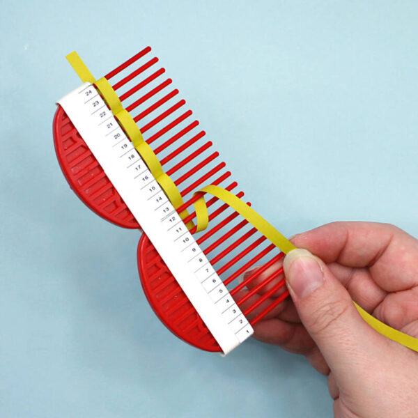 Long quilling comb, lang quilling kam