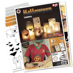 Halloween lanterner kit, lanterns