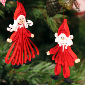 Small Quilling Figures
