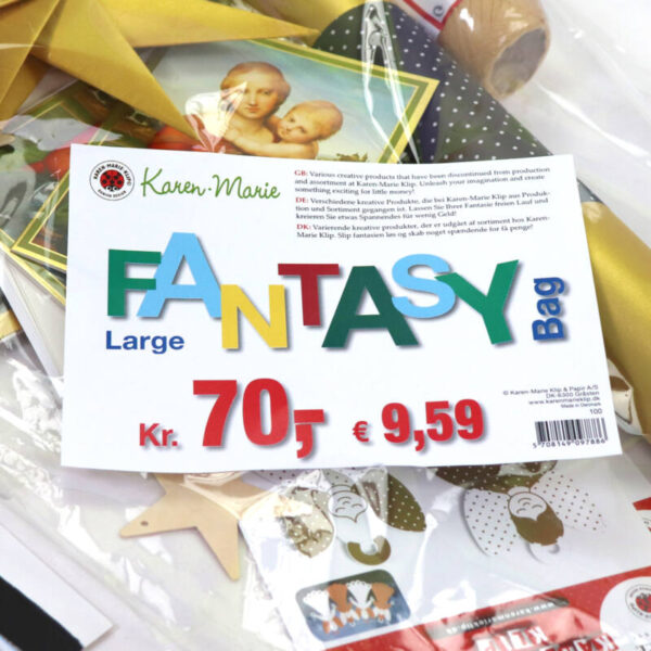 100 large fantasy bag