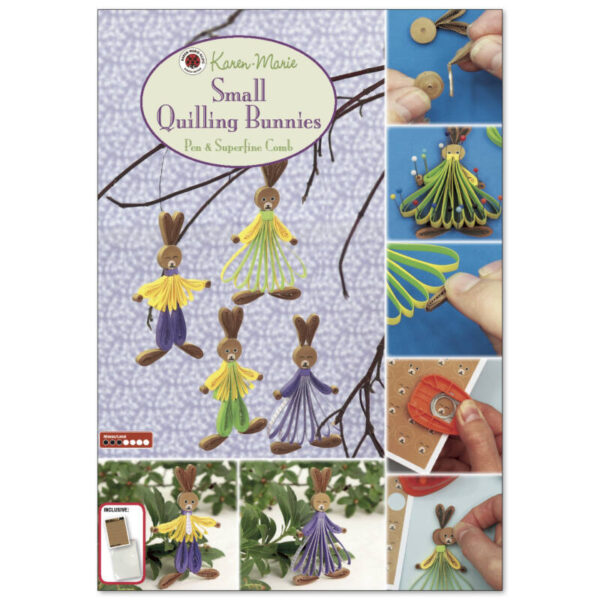289 small quilling bunnies instruktion