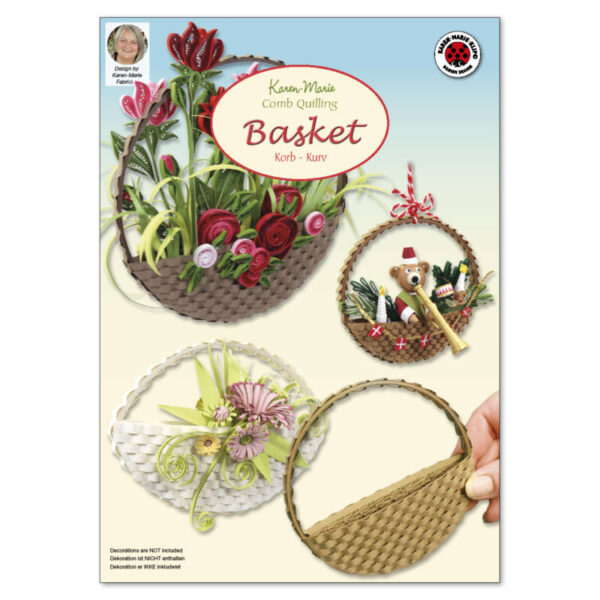 309 Comb quilling basket instruction
