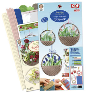 Grape hyacinth basket kit