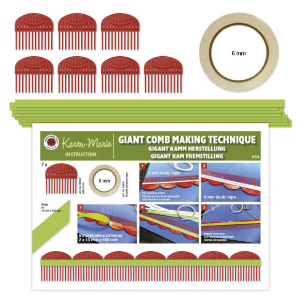 Quilling comb making kit