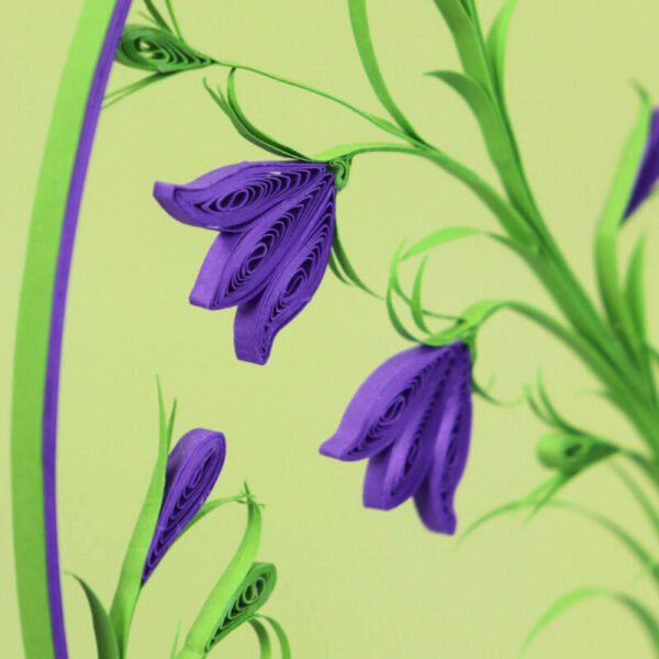quilling harebell flowers (313) 01