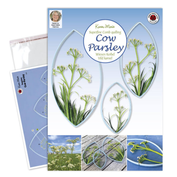 322 quilling cow parsley instruktion