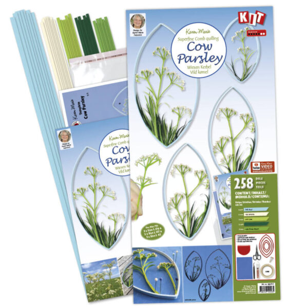 322414 quilling cow parsley kit