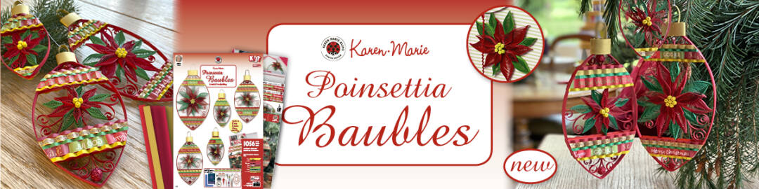 318 quilling poinsettia baubles banner (1200x300px)