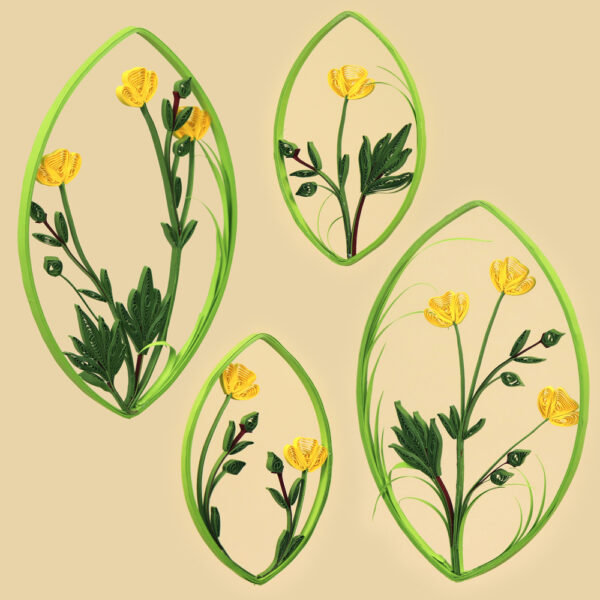 quilling buttercup (324) 01