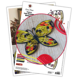 0285-1 late summer butterfly template