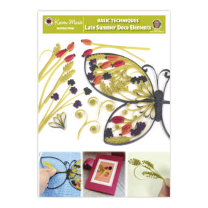 328 late summer quilling deco elements instruktion