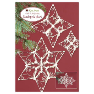 331 cassiopeia star quilling instruction