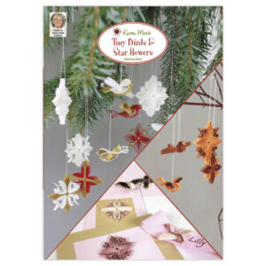 332 tiny birds and star flowers instruction