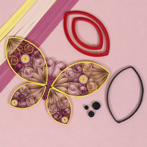 basic leaf tool techniques butterfly quilling (327) 01