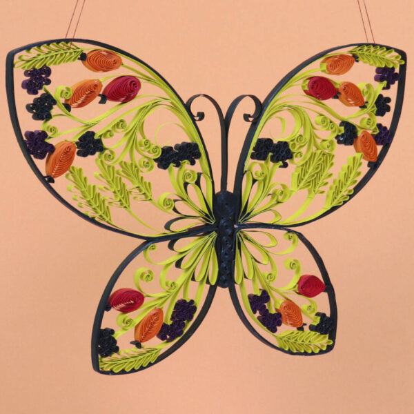 late summer quilling butterfly template (0285-1) 03
