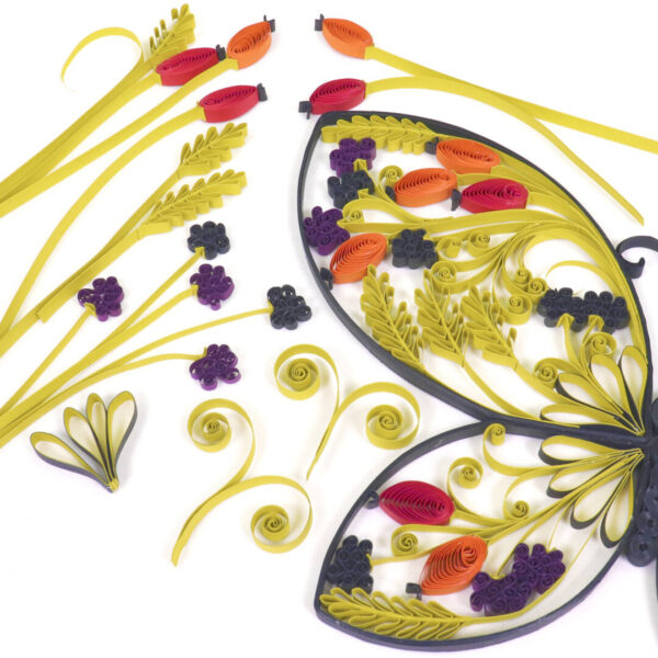 late summer quilling deco elements (328) 01