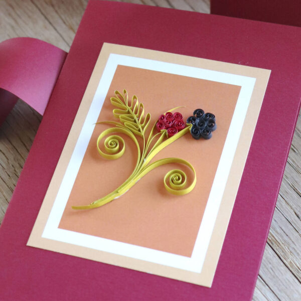late summer quilling hanging decor and cards template (0286-1) 02