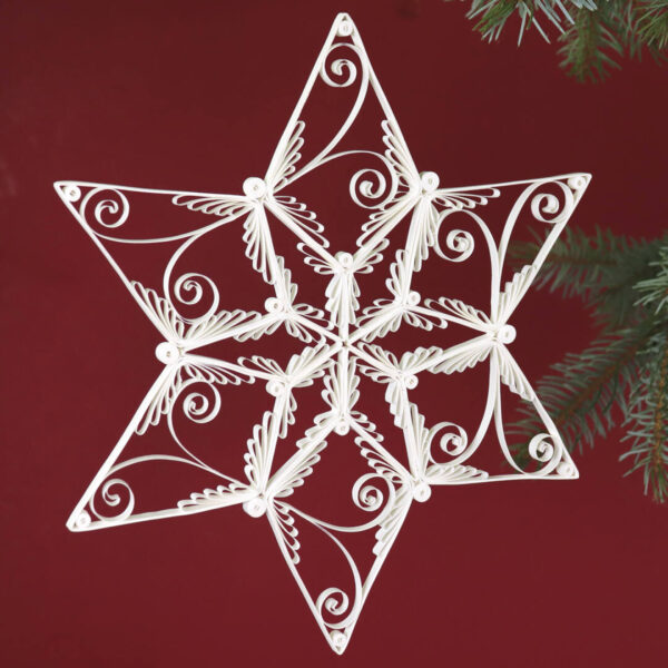 quilling cassiopeia star (331) 01