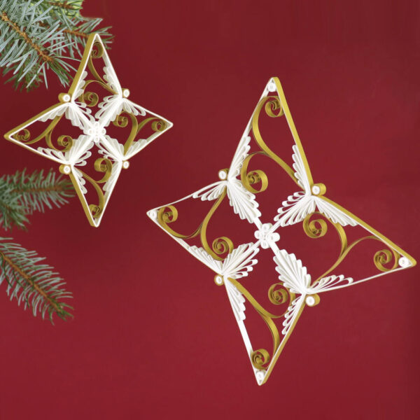 quilling cassiopeia star (331) 02