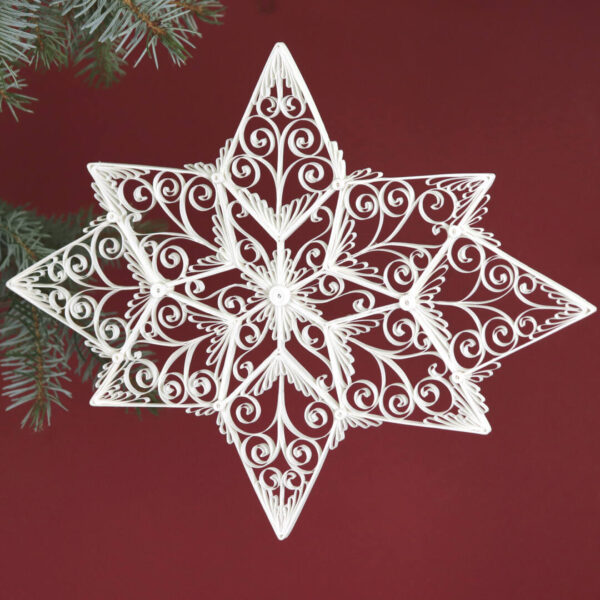 quilling cassiopeia star (331) 03