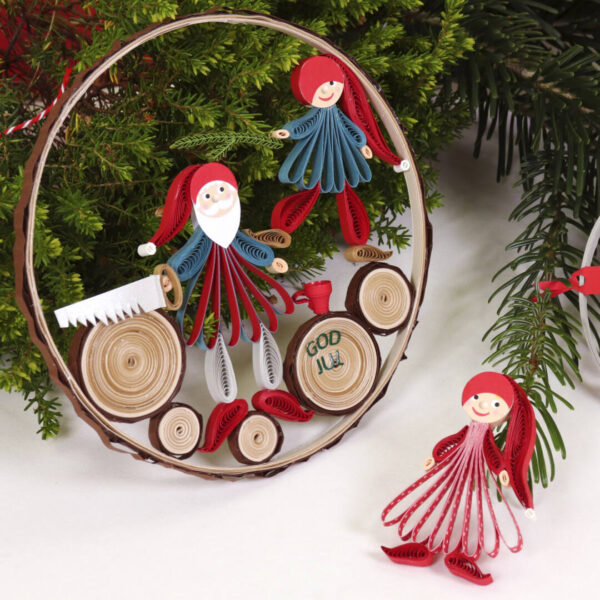 small quilling nisse family (330) 01