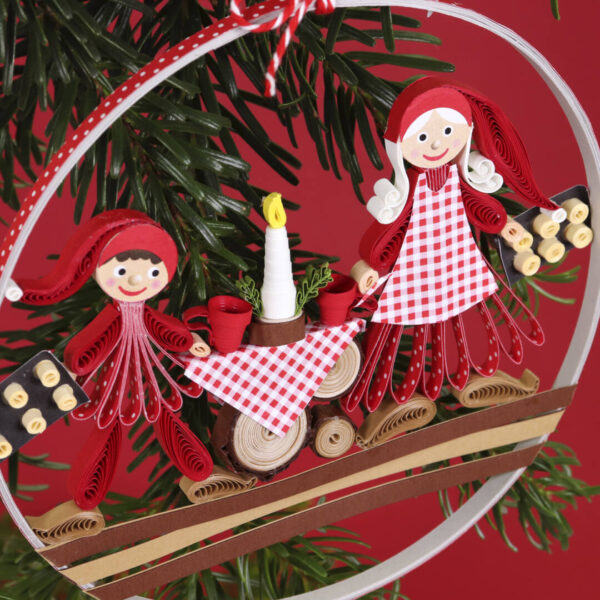 small quilling nisse family (330) 02