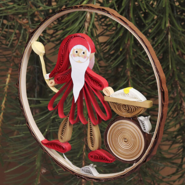 small quilling nisse family (330) 03