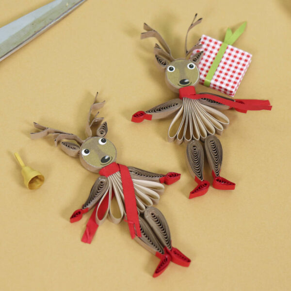 (345) small quilling reindeer 07