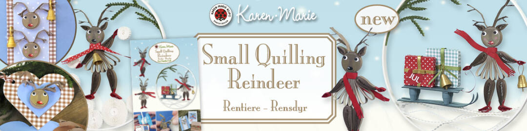 345 small quilling reindeer banner (1200x300px)